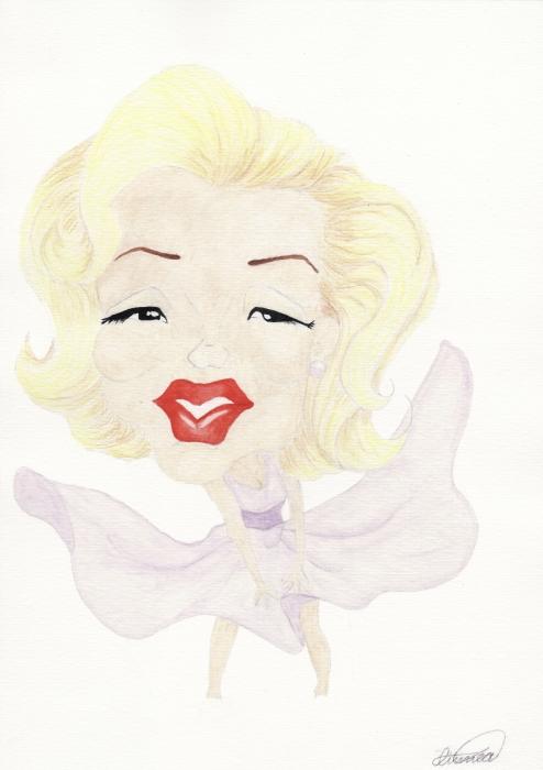 Marilyn Monroe por Linnea_